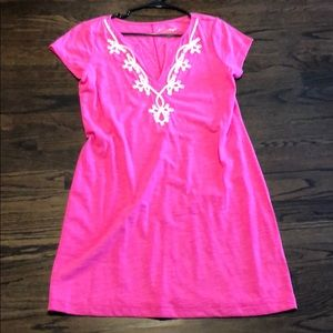 Lilly Pulitzer pink Brewster dress large